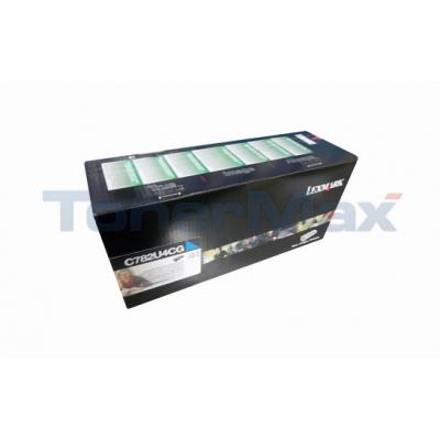LEXMARK C782 XL PRINT CART CYAN XHY RP TAA